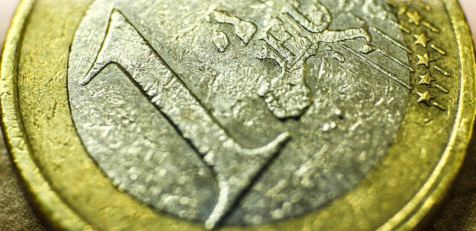 a coin of 1 euro